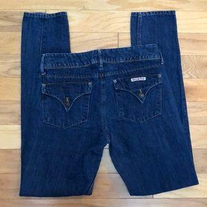 HUDSON Collin Skinny Sz 29 Blue Jeans
